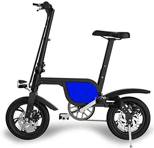 Art Jian Folding Elektro-Bike, Mini Kleines Folding Lithium-Batterie Tragbare Falten Fahrrad