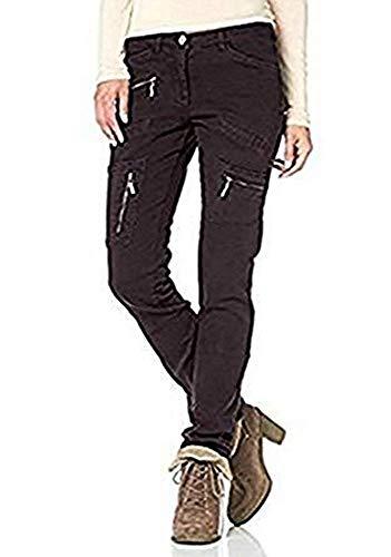 Boysens Hose Stretchhose Damen s - Grau-Braun Gr. 34