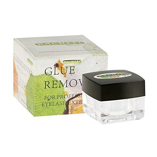 Extension de cils Remover Lash Glue Remover - Cils Extension Remover Lash Glue Adhesive Gel Removing Cream Makeup Cosmetic Accessory, Mild Ingredient