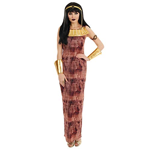 Fun Shack Disfraz de Cleopatra para Mujer. Vestido histórico de Reina egipcia para Adultos, Talla XXL
