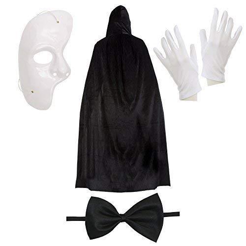 Le déguisement fantôme de l'opéra