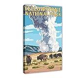 Yellowstone National Park, Wyoming – Old Faithful Geyser