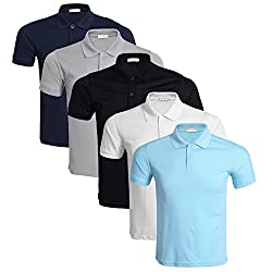 Material: 65% Cotton, 35% Polyester 2 button placket Machine Wash or Hand Wash Pack of 3/4/5 Suitable for couples or company employees to wear during group activities