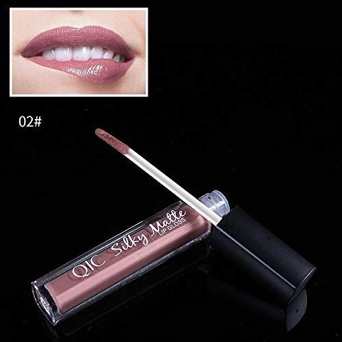 Momoxi Schminke Lippenstift Brown Nude Chocolate Color Flüssiger Lippenstift Lipgloss