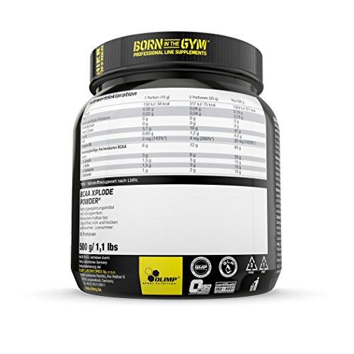 Olimp BCAA XPlode , Zitrone, 500 g - 3
