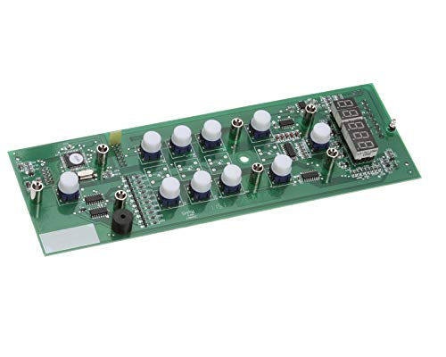 Fetco 1108.00005.00 Control Board Assembly, Software, D3P, 10 Keys, 9