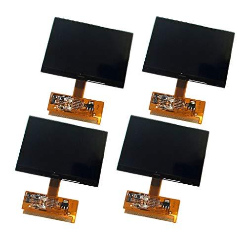 perfk 4 Stück Vdo Fis Cluster LCD Display für Audi A4 (B5) A6 (C5), Vw Sharan, D1560TOB