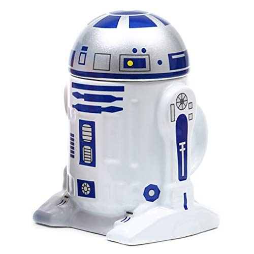 Creative R2-D2 Robot keramische mok BB-8 Robot koffiekop Darth Vader porseleinen theekop beker
