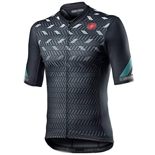 Maillot de Ciclismo Jerseys De Ciclismo para Hombre, Camiseta De Ciclismo Profesional,...