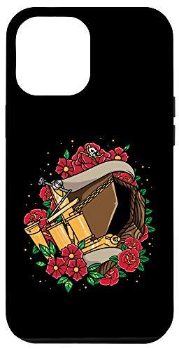 iPhone 12 Pro Max Tattoo Artist Coffin Roses Gothic Goth Case
