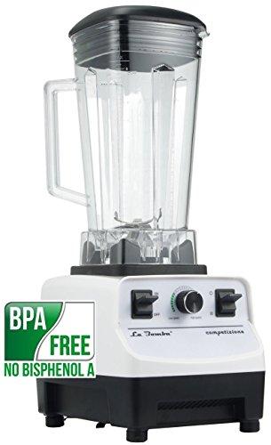 Mixer La Bomba® Competizione II, Hochleistungsstandmixer, Smoothiemaker, Profi Blender, bianco/weiß,1500 Watt, 38000 rpm