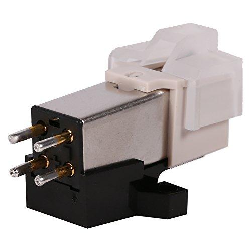 Ersatznadeln für Plattenspieler, bewegliche Magnetkartusche mit Befestigungsschrauben für Phonograph