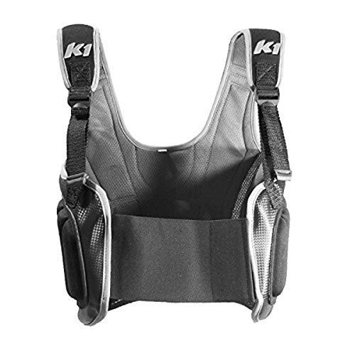 K1 Race Gear Karting Pro-Lite Rib Protector Vest (Black, Medium)