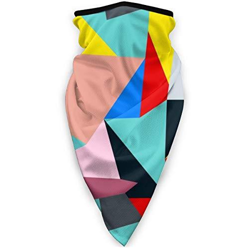Bauhaus Stil Muster Sport Bandana Hals winddicht Magic Schal Sonnenschutz Gesichtsmaske Sturmhaube Kopftuch für Männer und Frauen