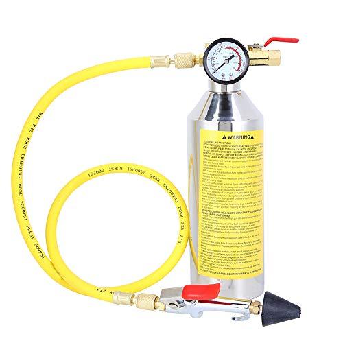 Cocoarm 1L Klimaanlagen Spülkanister Pistolen Kit, Fahrzeug Klimaanlage Reinigung Kit für die Klimaanlage R12 R134a R404 und R22