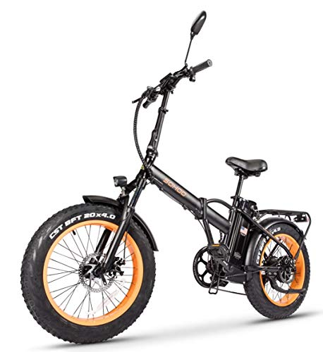 SOHOO Folding Fat Tire Electric Bicycle
