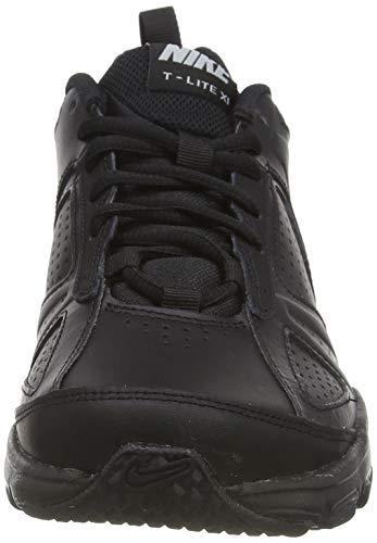 Nike Men's T-Lite XI Black/Black/Metallic Silver Training Shoe 8 Men US