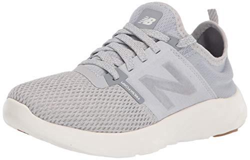 New Balance womens Spt V2 Running Shoe, Light Aluminum/Steel, 8 Wide US