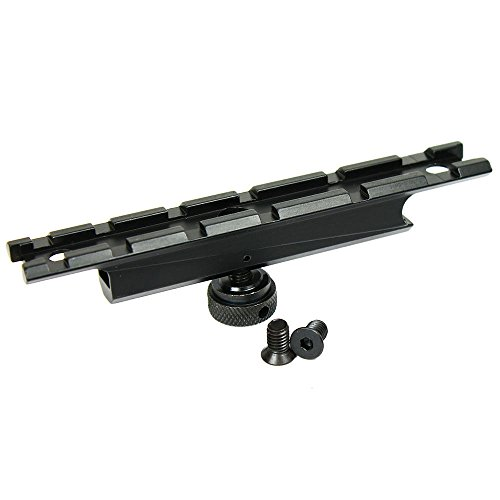 KDSG AR15 Carry Handle Rail Mount (Black) for Scope and Red Dot Sight
