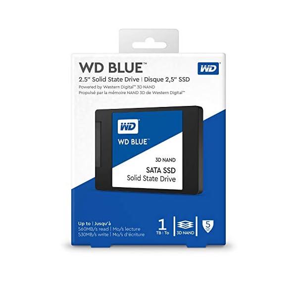 WD Blue 3D NAND Internal SSD 2.5 Inch SATA - 1 TB 4