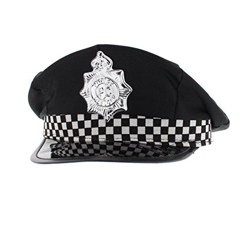 Hat Policeman Adult (Bonnet/Chapeau)
