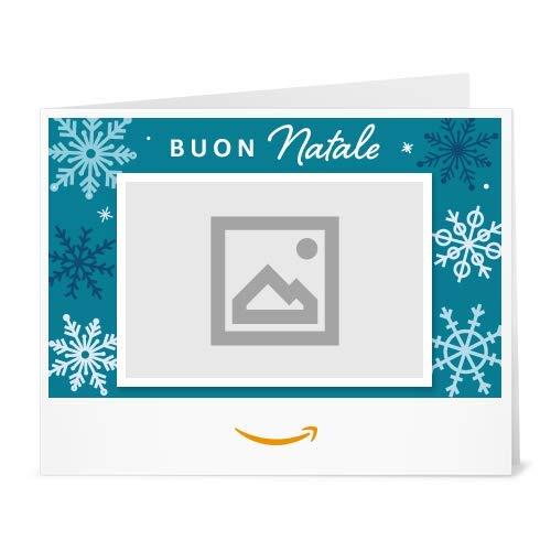 Buono Regalo Amazon.it - Stampa - Carica una foto - Fiocchi di neve