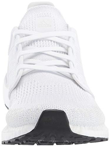 adidas Men's Ultraboost 20 Running Shoe, ftwr White/grey/core Black, 10.5 Nebraska