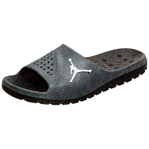 AIR JORDAN Jordan Super.Fly Team 2 Graphic - Ciabatte da Bagno da Uomo, Nero/Bianco, 16 US - 50.5 EU - 15 UK