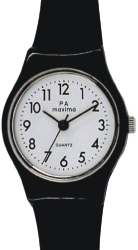 Maxima Analog White Dial Women's Watch - 02502PPLW