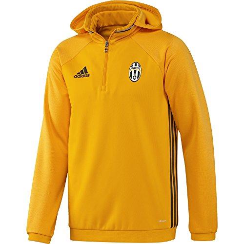 adidas Herren Juventus Fleece Jacke, Cogold/dkgrey/Chsogr, S