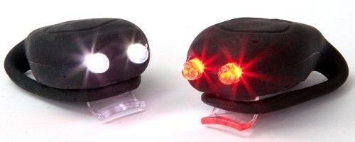 Sport Direct - Minilámparas LED para Casco de Bicicleta (2
