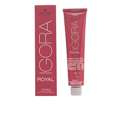 Schwarzkopf IGORA Royal Premium-Haarfarbe 10-1 ultrablond cendré, 1er Pack (1 x 60 g)