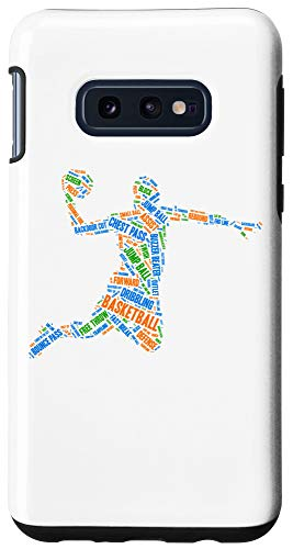 Galaxy S10e Basketball Player Slam Dunking Ball Is Life Case