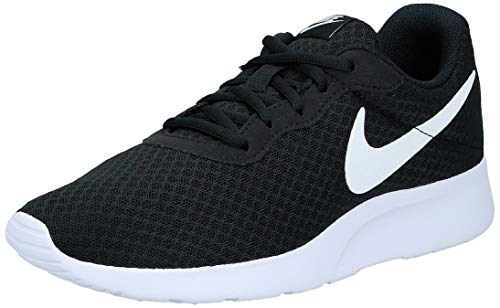 Nike Women's Trainers Running Shoes, Black Black White 011, 8
