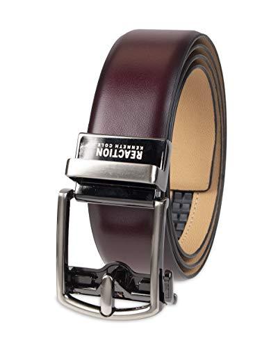 Preisvergleich Produktbild Kenneth Cole New York Herren Elevated Everyday Belt Gürtel,  burgunderfarben,  Medium (36-38)