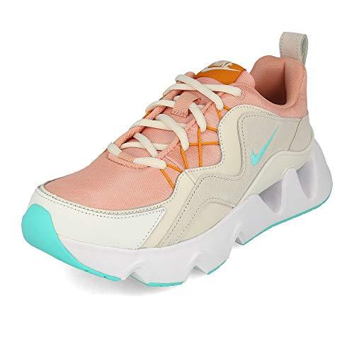 Nike Wmns RYZ 365, Zapatillas de Atletismo Mujer, Multicolor (Coral Stardust/Aurora Green/Phantom 600), 39 EU
