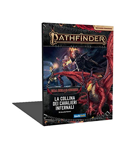 Giochi Uniti - Pathfinder Seconda Edizione La collina dei Cavalieri Infernali Gioco Avventura, Colore Illustrato, GU3603