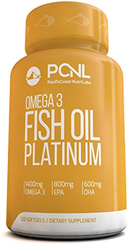 PacificCoast NutriLabs 2000 mg Fish Oil