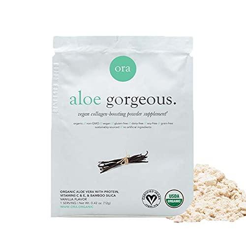 Ora Organic Vegan Collagen-Boosting Powder for Women and Men - Hair,...