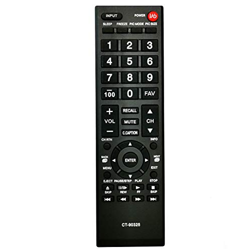 Newest Universal Remote Control Replace Toshiba TV Remote for All Toshiba TV Replacement for LCD LED HDTV Smart TVs Remote