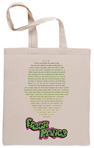 The Fresh Prince of Bel-Air Shopping Bag Beige