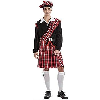 Kimokawaii - Disfraz de Escocés, Talla XL: Amazon.es: Juguetes y ...