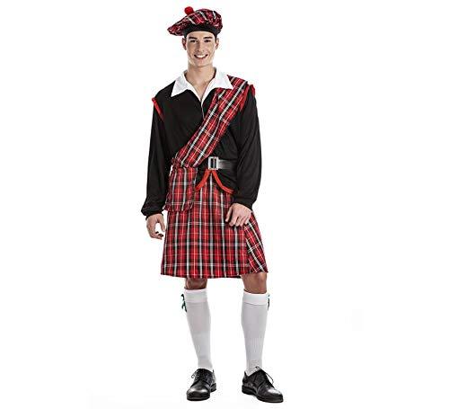 Kimokawaii - Disfraz de Escocés, Talla XL
