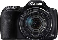 Canon PowerShot SX540 HS digitale camera (20,3 MPCMOS sensor, 50x ultrazoom, 100x ZoomPlus, WiFi, Full HD) zwart*