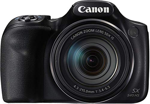 Canon PowerShot SX540 HS Fotocamera Bridge Digitale, 20.3...