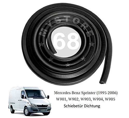 Schiebetürdichtung Ersatzteil für MERCEDES BENZ SPRINTER Gummidichtung Schiebetür Dichtung W901 W902 W903 W904 W905 1995-2007