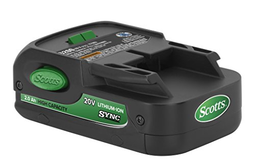 Scotts S12020A SYNC Lithium-Ion Battery Accessory Pack, 20-volt