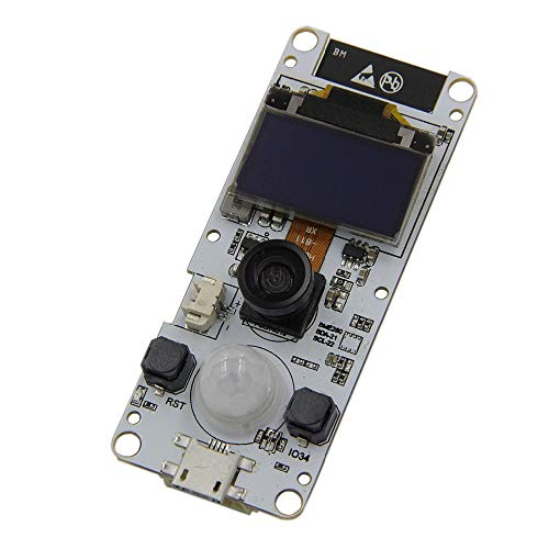 Amazon.com - ESP32 Camera Module T-Camera with PIR Motion Sensor and OLED Display
