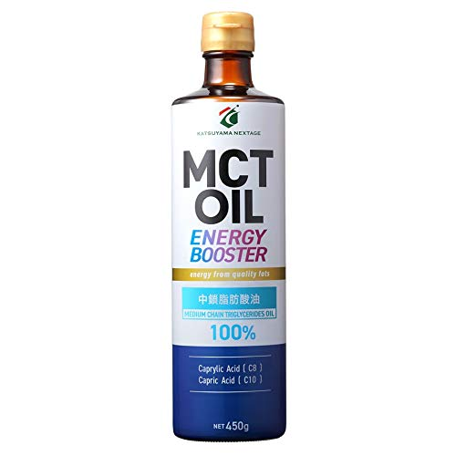 (大容量450g)勝山ネクステージMCTオイル(中鎖脂肪酸100%)