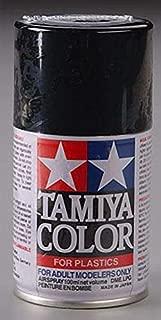 Tamiya America, Inc TS-6 Matte Black Spray Lacquer, TAM85006